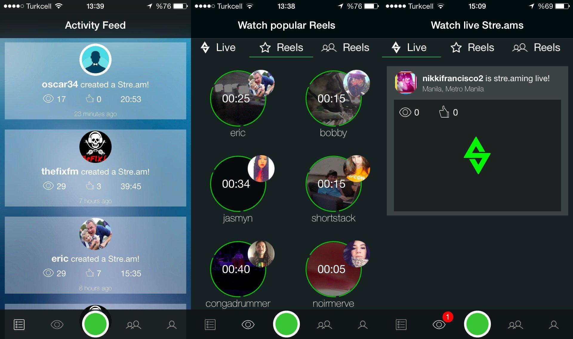 stream app 1