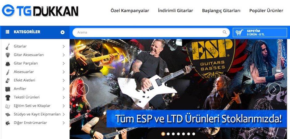 türk gitar dükkan