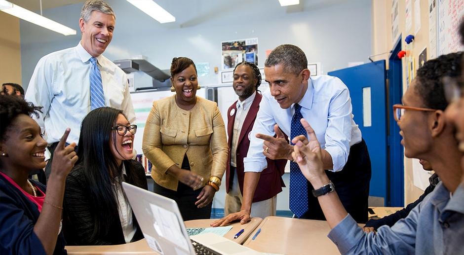 Barack Obama Beyaz Saray Girisimcilik