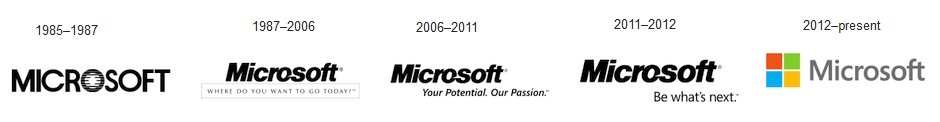 Microsoft logolari