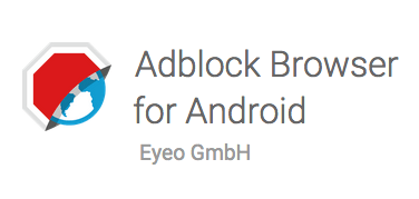 Adblock Plus Android uygulamasi
