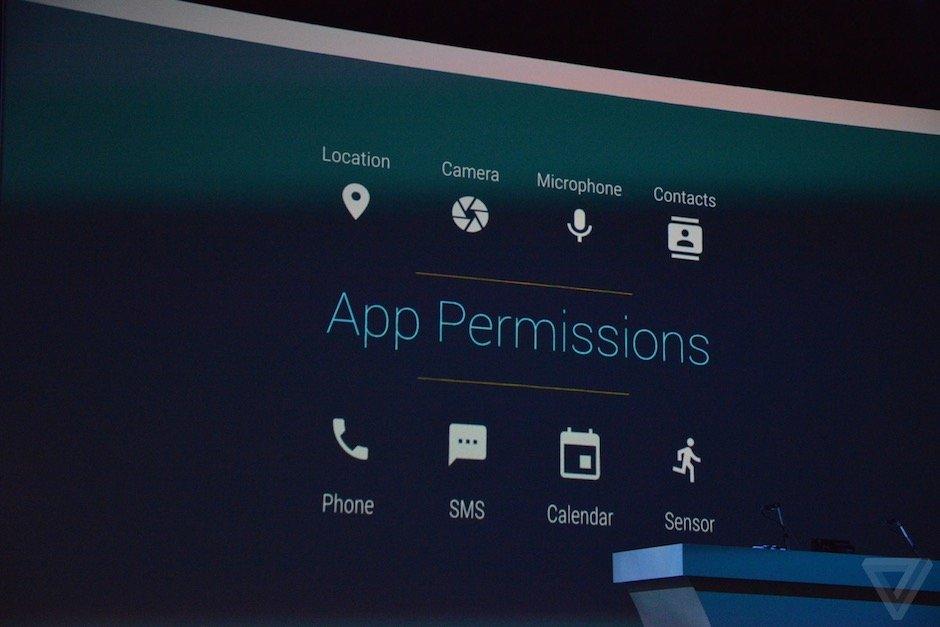 Android M uygulama izinleri 2