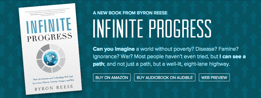 Byron Reese Infinite Progress kitap
