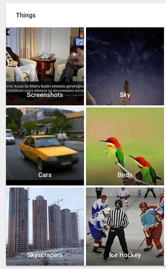 Google Fotograflar Uygulamasi