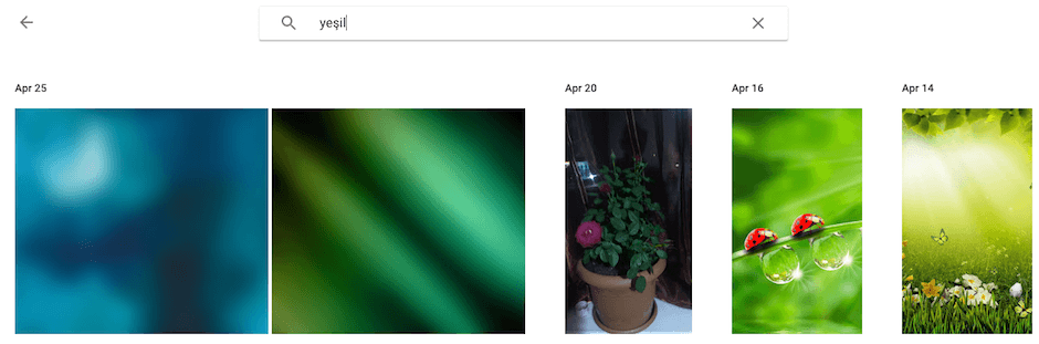 Google Fotograflar uygulamasi yedekleme