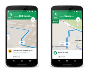 Google Haritalar Navigasyon