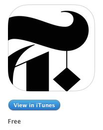 NY Times Now iPhone uygulamasi