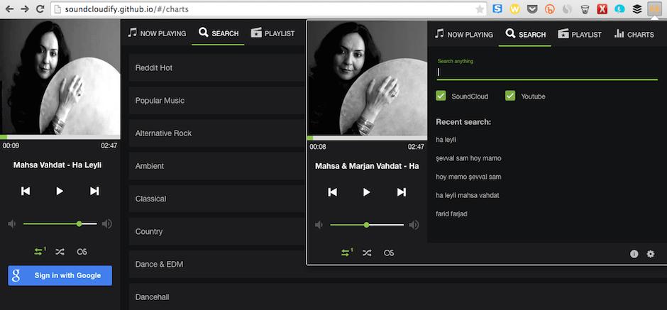 Ucretsiz Muzik dinle SoundCloudify