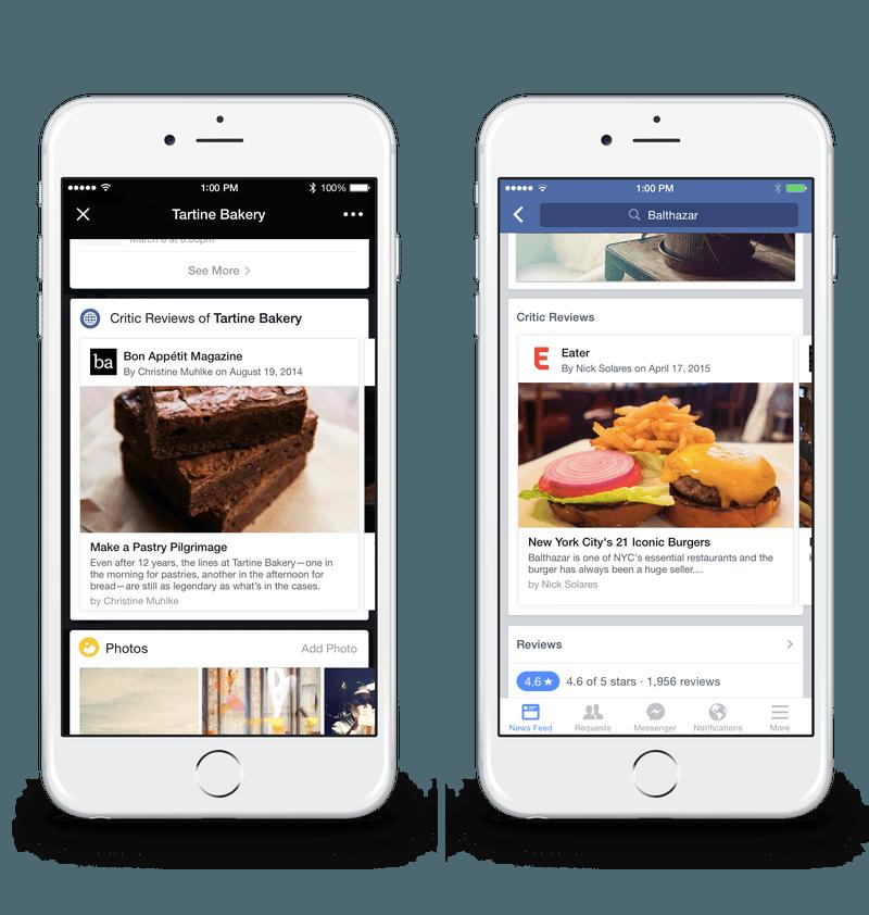 facebook restoran