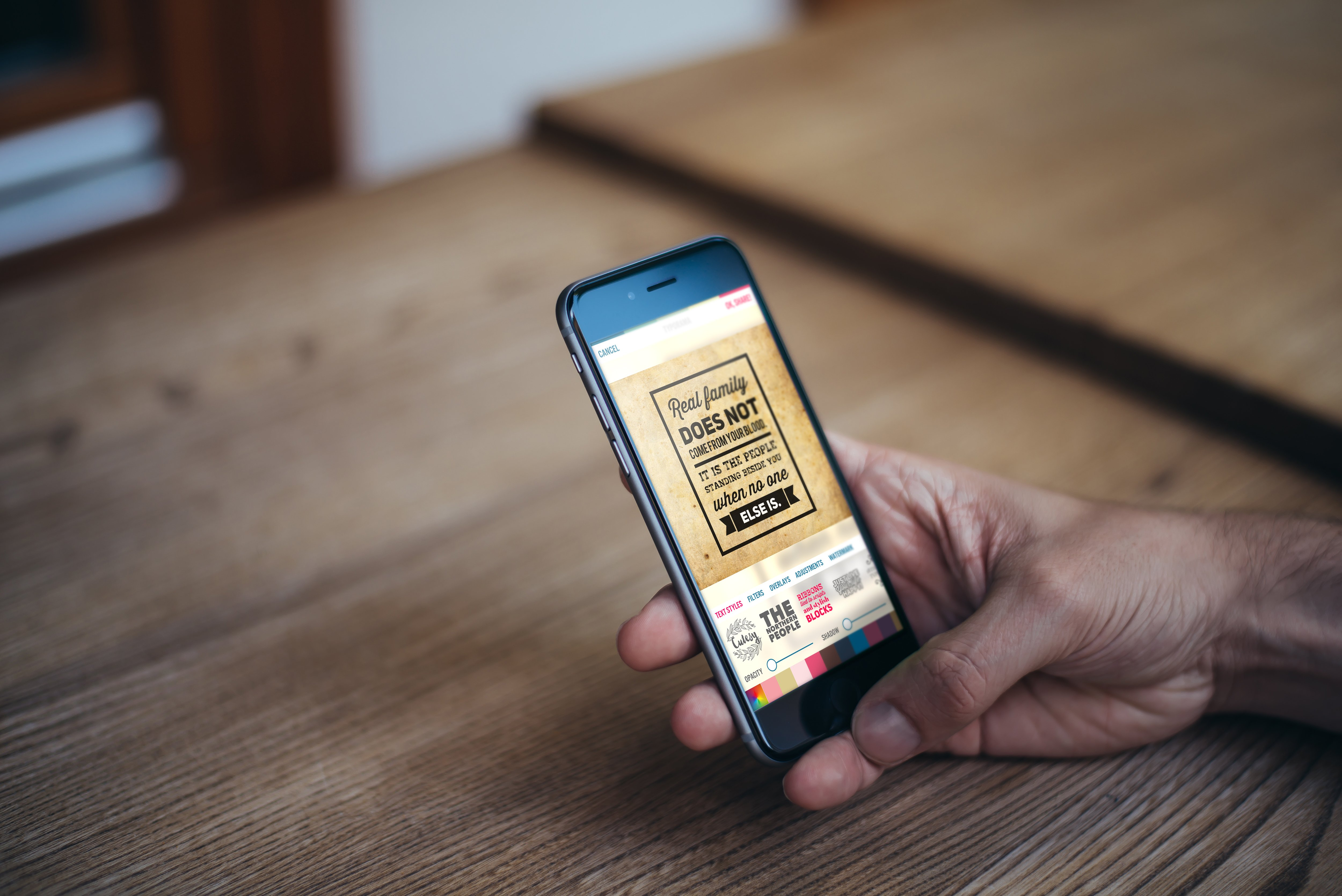 typorama-app-screen