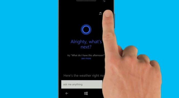 Cortana Akilli asistan Microsoft 2
