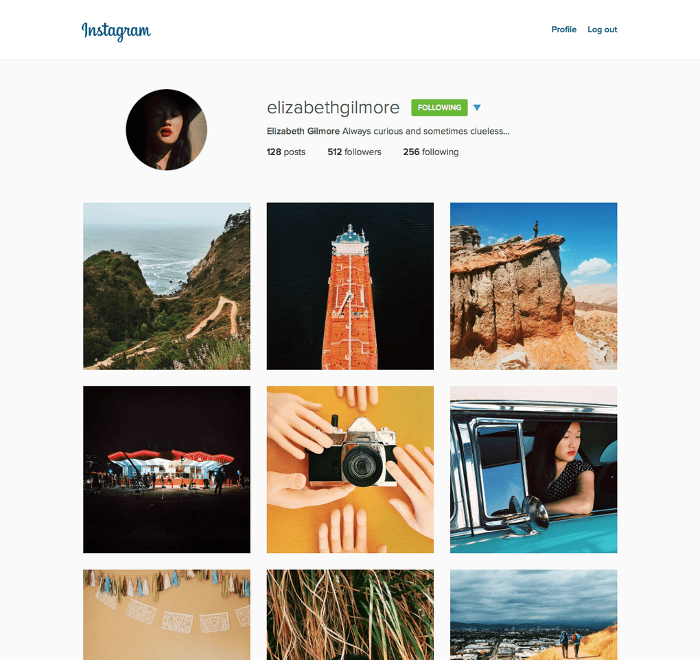 Desktop-Profile.instagram