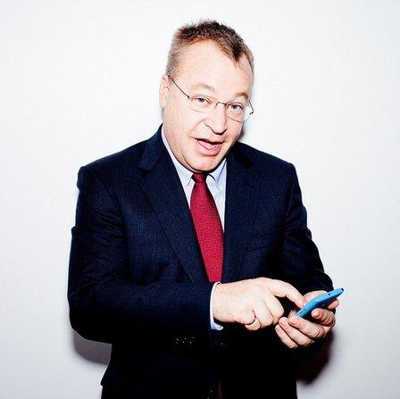 Stephen Elop Nokia Microsoft