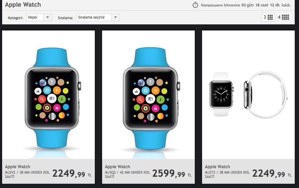 apple watch markafoni