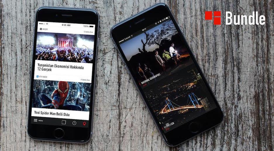 Bundle mobil haber uygulamasi