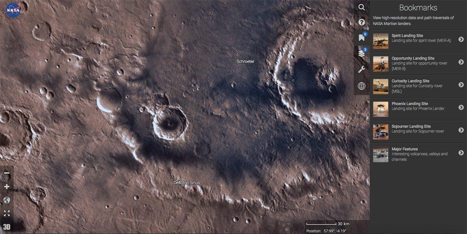 NASA-Mars-Trek