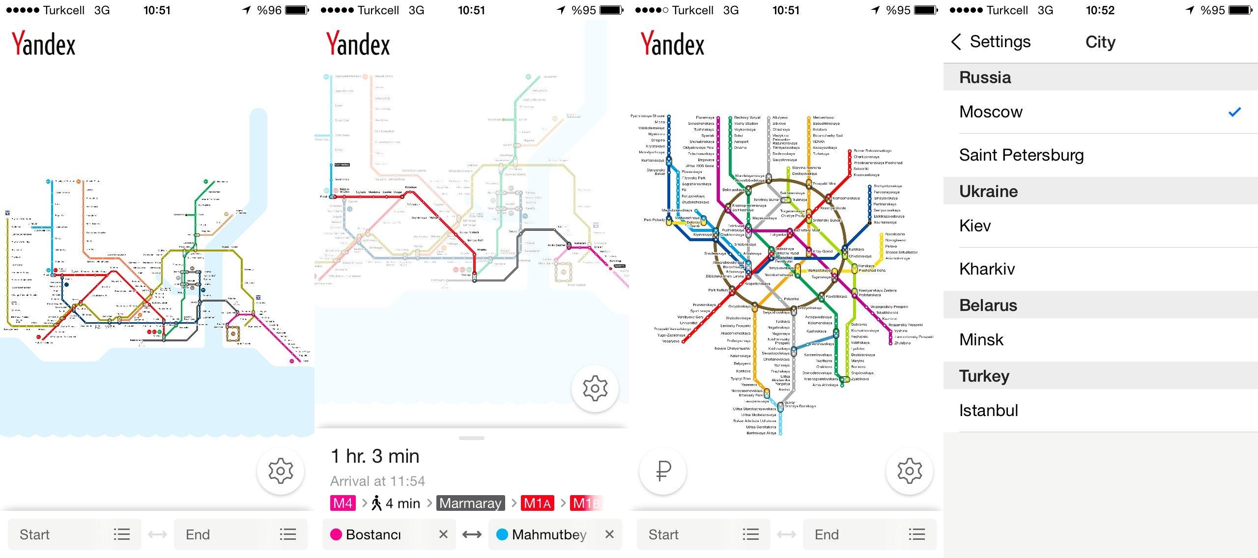 yandex metro