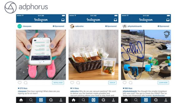 Adphorus, Instagram reklamlarını sistemine dahil etti