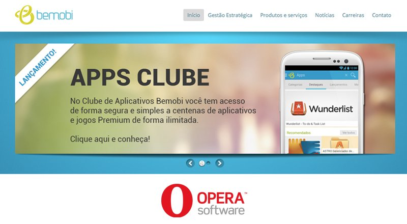 Opera Appsclub mobil uygulama