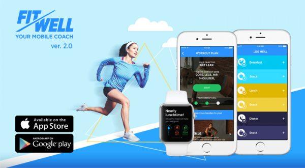 Yerli mobil sağlık ve fitness uygulaması FitWell yeni sürümüyle küresel pazara açıldı