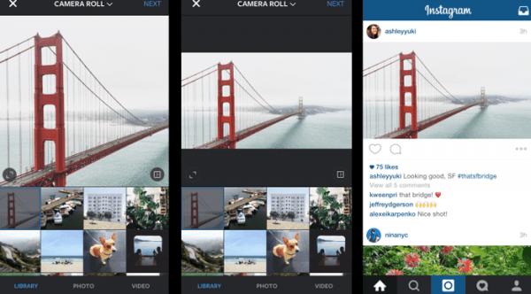 Instagram zorunlu kare formatından çıktı