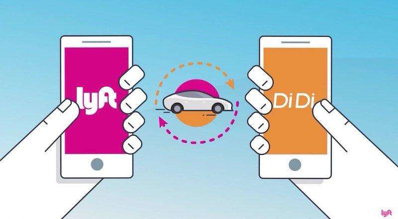 Lyft Didi taksi cagirma uygulamasi