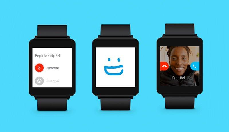Skype uygulamasi Android