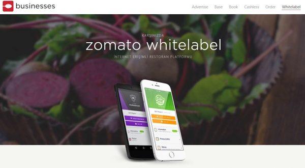 Zomato, White Label platformuyla offline restoranları da hedef kitlesine dahil etti