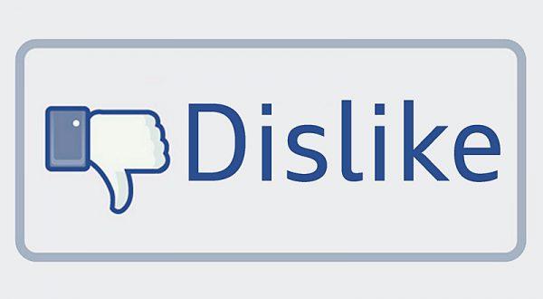 """Facebook'a """"dislike"""" yorumla geliyor"""