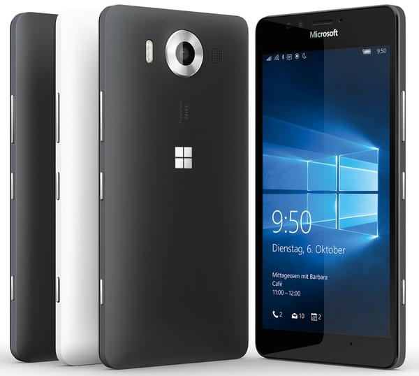 Lumia 550 Lumia 950 XL