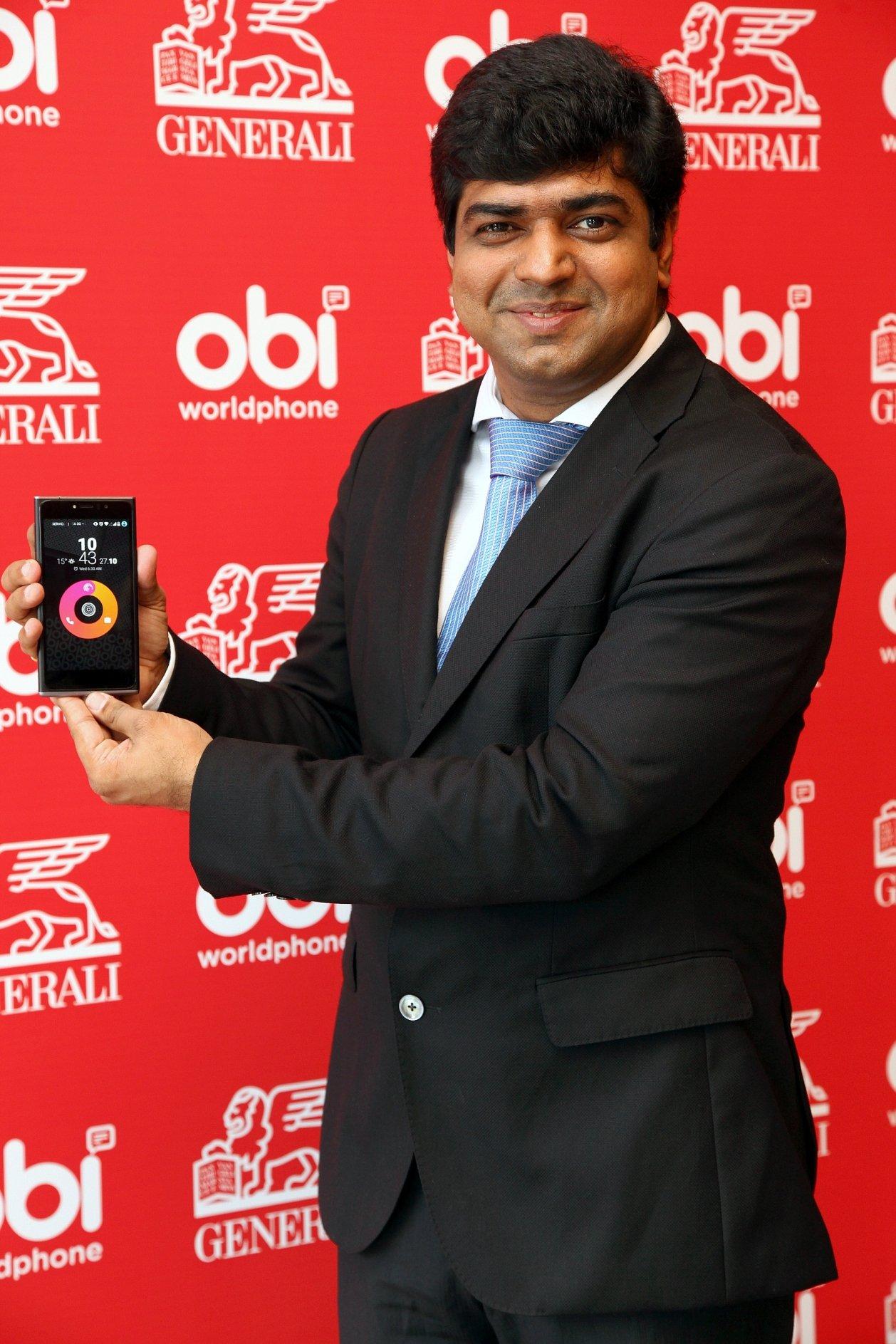 Obi Worldphone EMEA Bölge Müdürü Amit Rupchandani