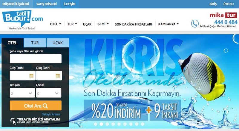 Tatilbudur.com Mika Tur İs Girisim