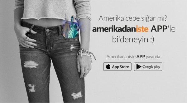 Amerikadaniste, yurt dışından alışverişi daha da kolaylaştıran mobil uygulamasını yayınladı