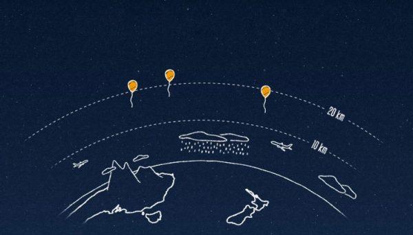 Google, Endonezya'da balonla internet sağlayacak