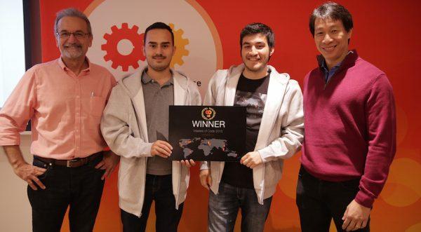 Masters of Code Hackathon Istanbul'un kazananı Mobil Bayi oldu