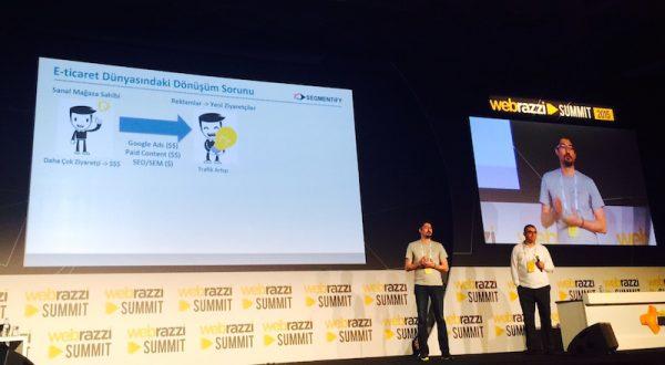 Segmentify e-ticaret siteleri için dönüşüm optimizasyonu sağlıyor [Webrazzi Arena]