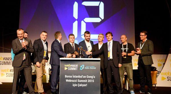 Webrazzi Summit, Borsa İstanbul gongu ile başladı!