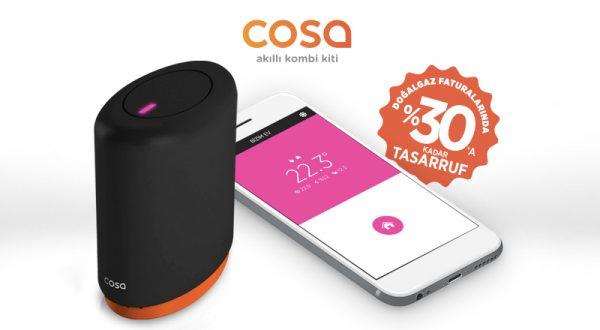 Akıllı termostat Cosa nem sensörüyle yenilendi, 200 servis noktasına ulaştı