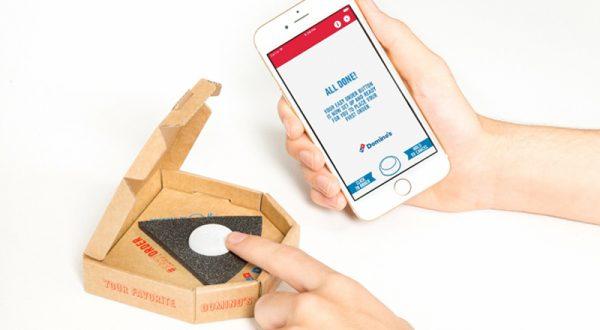 Domino's Pizza'dan 'kolay sipariş' butonu