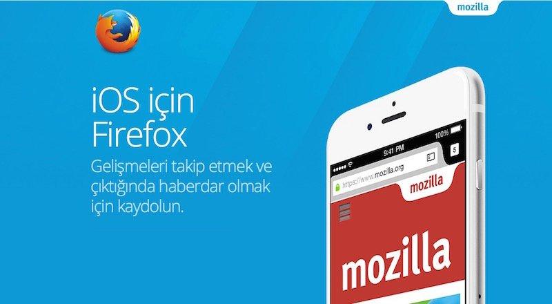 Firefox iOS indir