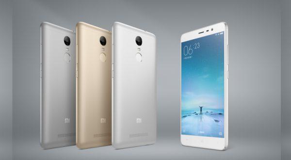 Xiaomi, parmak izi tarayıcılı Redmi Note 3'ü tanıttı