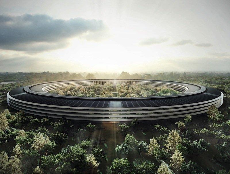 Steve Jobs'ın temelini attığı yeni Apple kampüsünün inşaatı son aşamada [Video]