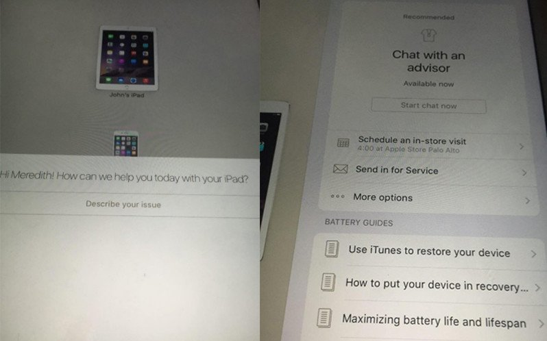 apple-mobil-destek-uygulamasi