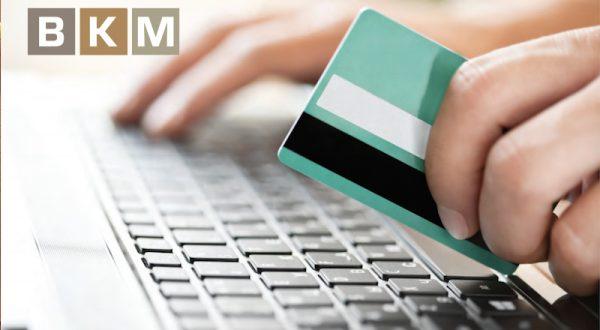 BKM: İnternetten yapılan kartlı ödemelerin payı 2016'da yüzde 12'ye yükseldi