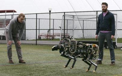 Boston Dynamics'in koşucu robotu Cheetah