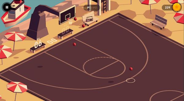 100 bin indirilmeye ulaşan basketbol oyunu HOOP, iOS platformunda