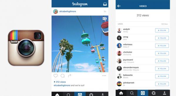 Instagram videolarınızı kaç kişinin izlediğini göstermeye başlayacak