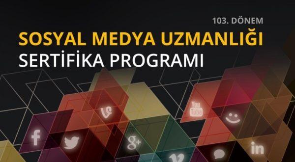 Sosyal Medya Uzmanlığı Sertifika Programı İstanbul Bilgi Üniversitesi ev sahipliğinde  3. dönem kayıtlarını açıyor