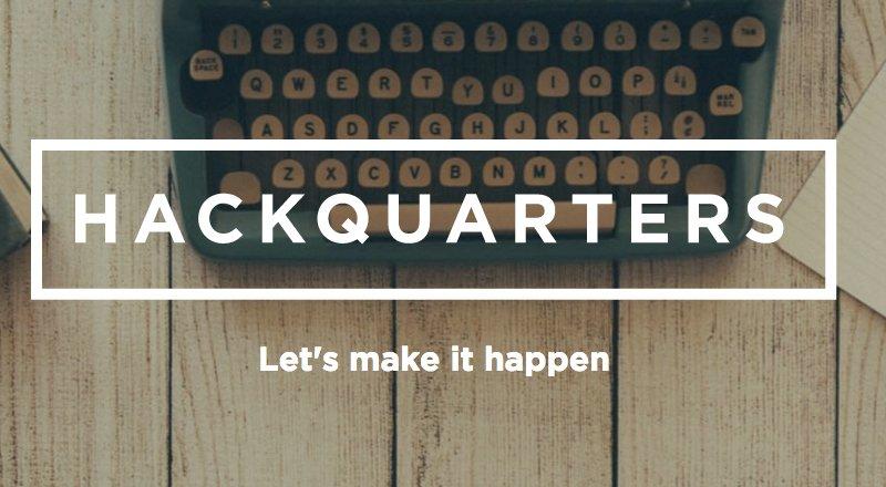 HackQuarters-girisim-hizlandirma
