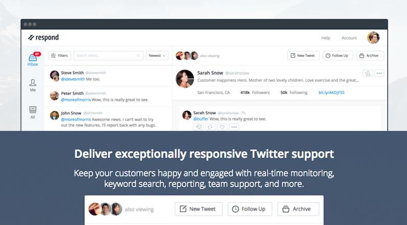 Respond twitter musteri hizmetleri